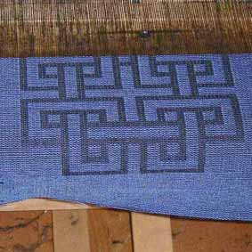 cushion on loom