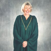 example of academic gown fron Spinnhuset